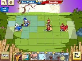 Screenshot of Cards and Castles