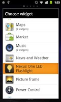 Screenshot of Nexus One LED Flashlight
