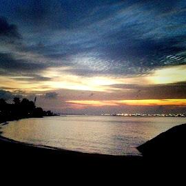 Sunrise blue hour by Janette Ho - Instagram & Mobile iPhone (  )