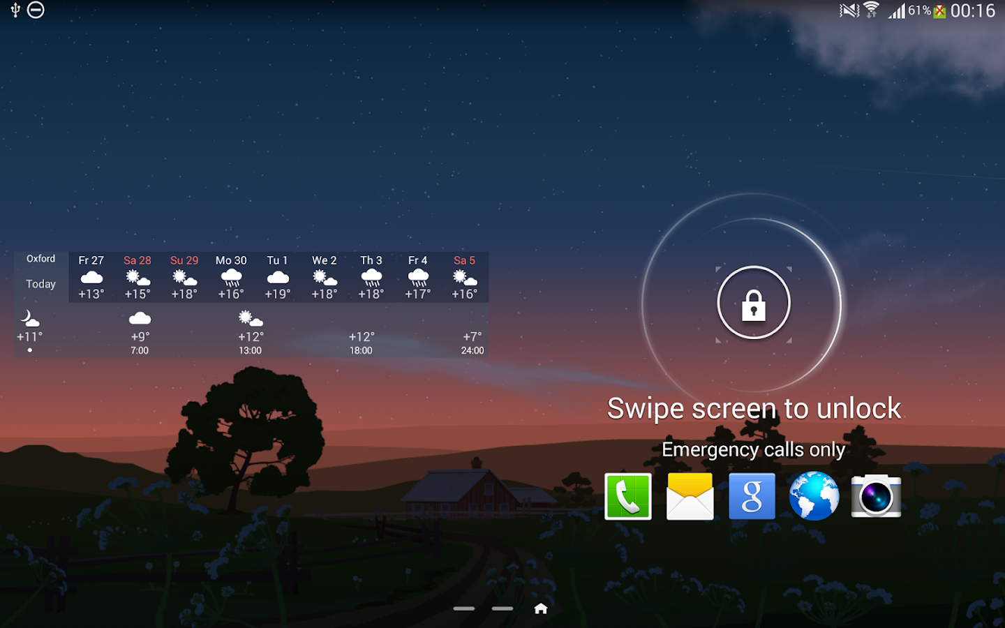 YoWindow Weather - screenshot