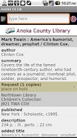 Screenshot of Anoka Co Lib