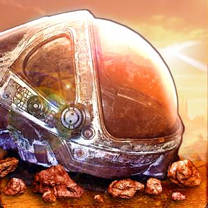 Cover art Mines of Mars Scifi Mining RPG