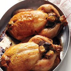 Cornish Hens with Bagel Stuffing
