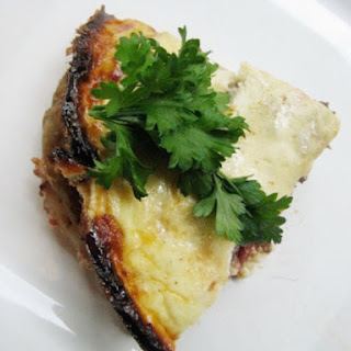 Lamb Moussaka (Greek Lamb, Potato, and Eggplant Casserole)