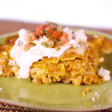 Chicken Enchilada Casserole by Clinton Kelly