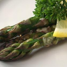 Asparagus with Parmesan Crust
