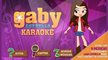 Screenshot of Gaby Estrella Karaokê