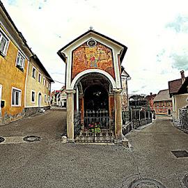 Škofja Loka by Iztok Urh - City,  Street & Park  Historic Districts