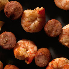 Grilled Shrimp-Boil Skewers Recipe