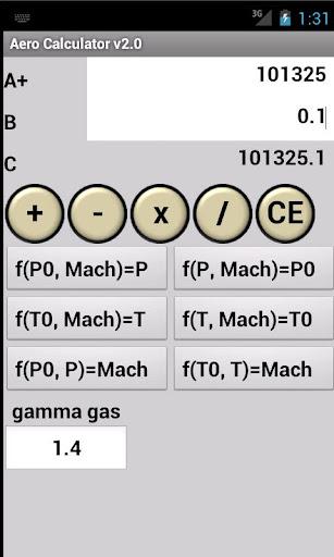 Isentropic Flow Calculator