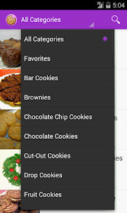 Cookie Recipes - screenshot