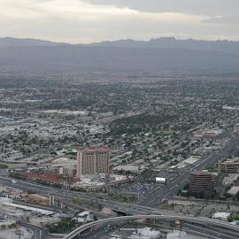Las Vegas Nv by Stephen Jones - Landscapes Deserts