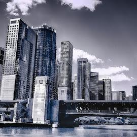 Chicago © Michael Karakinos, 2013 by Michael Karakinos - City,  Street & Park  Vistas