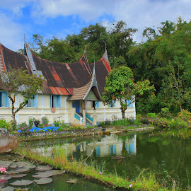 traditional houses by Anick Koto Agam - Buildings & Architecture Homes ( water, reflection, nature, awesome, architecture, landscape )