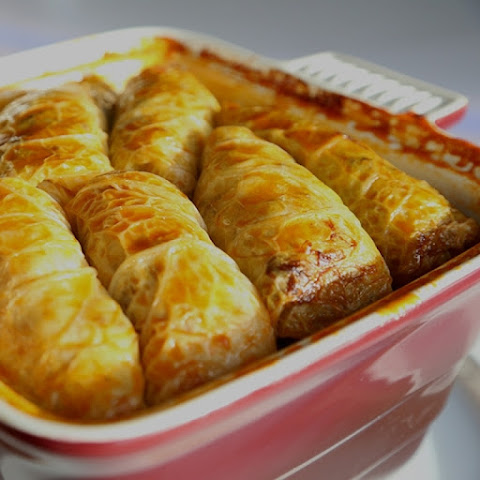 Grandmothers Homemade Cabbage Rolls