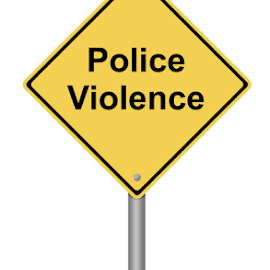Police Violence by Henrik Lehnerer - Typography Words ( freedom, cops, cop, illustration, yellow, politics, aggression, police, brutality, power, government, bashing, black, brutal, control, information, problems, hitting, symbol, alert, white, sign, rally, anger, against, opinions, caution, protest, signal, riot, beware, object, diamond, notice, democracy, attention, policeman, announcement, violence, communication, hazard, demonstration, gun, message, background, signpost, force, attack, advice, warning )