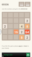 Screenshot of 2048 5x5
