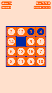 Fifteen Puzzle Classic - screenshot