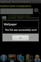 Screenshot of PaperDroid Real Time Wallpaper