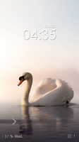 Screenshot of Swan Free Live Locker Theme