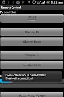 Screenshot of Remote Control