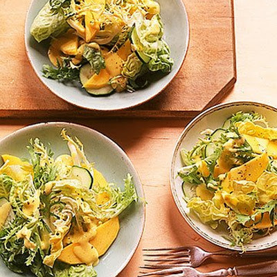 Mixed Greens with Mango Vinaigrette