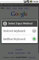 Screenshot of GetBlue Data Acquisition Tool