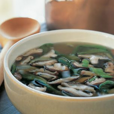 Bok Choy and Shiitake Soup