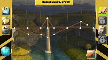 Screenshot of Bridge Constructor FREE