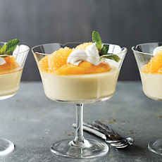 Luscious Orange Panna Cotta