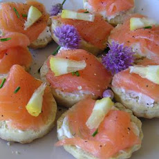 Salad Scones With Salmon