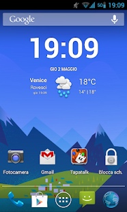 GoogleNowWallpaper - screenshot