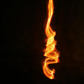 FIRE  by Rushat Gc - Abstract Light Painting ( abstract, art, light, fire )