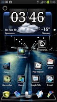 Screenshot of Next Launcher Theme Black 3D