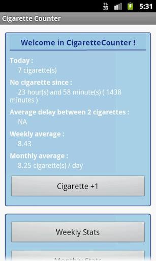 Cigarette Counter