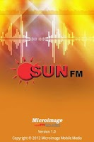 Screenshot of Sun FM Mobile