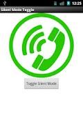 Screenshot of Silent Mode Toggle