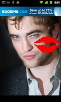 Screenshot of Kiss Edward Cullen