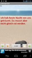 Screenshot of German Love Poems