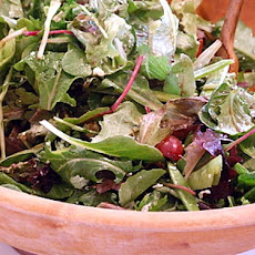 Field Salad with Snow Peas, Grapes and Feta