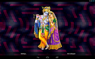 Screenshot of Radha Krishna Live Wallpaper