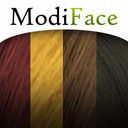 Hair Color mobile app icon