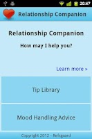 Screenshot of Relationship Companion