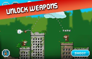 Screenshot of City Monkey Online Shooting