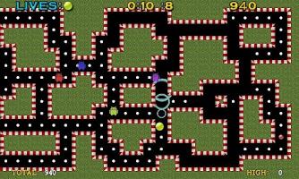 Screenshot of Pac-Ball Lite