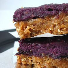 No Bake Sticky Berry Bars