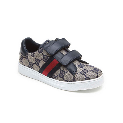 Gucci Brown Canvas Strap Trainer TRAINER