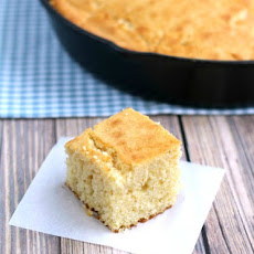 Cast Iron Buttermilk Corn Bread