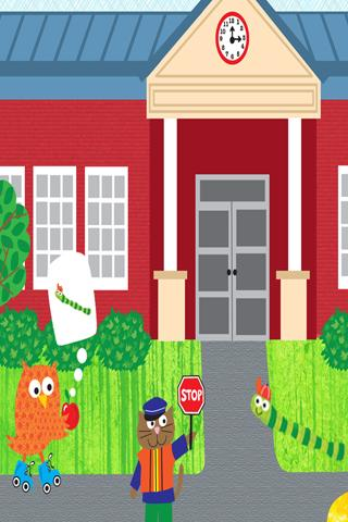 解謎必備APP下載 Spencer Goes to School Free 好玩app不花錢 綠色工廠好玩App