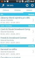 Screenshot of Ski Info CZ/SK